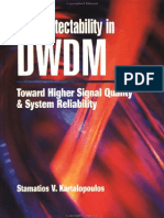 Fault Detectability in DWDM - Toward Higher Signal Quality & System Reliability