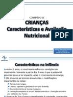 Ciclos_crianca_caracteristicas Gerais e Avaliacao Nutricional