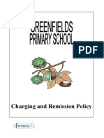 Greenfields Primary School - Charging & Remissions Policy