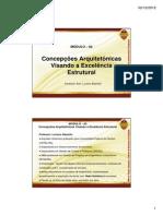 Slides MÓDULO – 02 Concepções Arquitetônicas Visando a Excelência Estrutural