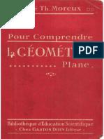 Abbé Th.Moreux - Pour comprendre la géométrie plane
