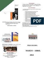 Programa Marzo Abril 1