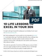 10 Life Lessons to Excel in Your 30s - Blog