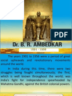 Ambedkar - Life and Contribution