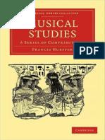 Francis Hueffer - Musical Studies