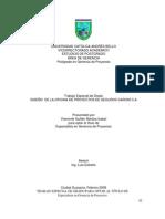 Diseño de la oficina de proyectos de Seguros Caroní C.A.