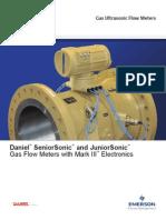 Bidirectional Ultrasonic Gas Meter SeniorJrSonic