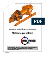 Manual Operating Maintenance Spanish