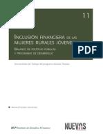 Inclusion financiera de las mujeres rurales jóvenes