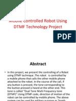 DTMF Robot Ppt