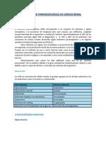 Trabajo Síndrome paraneoplásico en cáncer renal