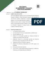 Reglamento Titulacion Ingenieria - Unc