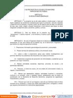 Puebla Ley Protección Adultos Mayores