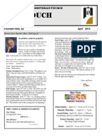 April Newsletter 2014