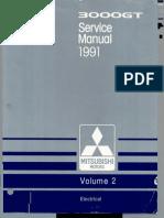 1991 servicemanual mitsubishi 3000gt vol 2