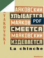MAIAKOVSKI, Vladímir - La Chinche