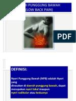 K - 7 Low Back Pain (Neurologi).ppt
