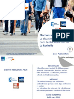 Ipsos-Steria - Intention de vote 2nd tour à La Rochelle