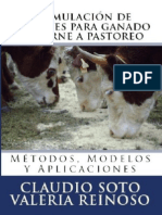 Formulación de raciones para ganado de carne a pastoreo