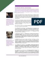 Los Derechos Del Nino y Nina Bolivianos