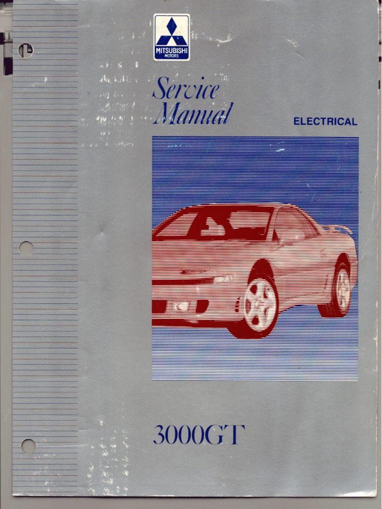 servicemanual mitsubishi 3000gt 1992-1996 vol 2 electrical | fuse ( electrical) | troubleshooting