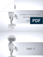 Energy Audit and Management
