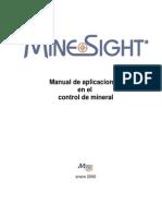 Minesight Control Mineral