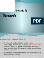 What Are Non Parametric Methods!