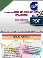 Pendedahan Aplikasi-Aplikasi Komputer