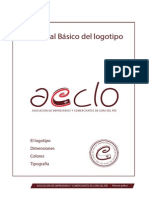 Manual Logotipo Aeclo e