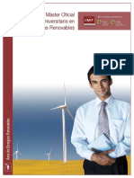 Master Universitario Oficial en Energias Renovables