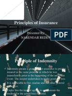 Principles of Indian Insurance