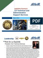 DLE Capabilities Presentation - MAR 2014