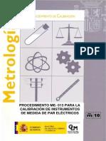 Instrumentos de Medida de Par Electricos