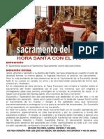 Hora Santa Con El Papa. Orden Sacerdotal