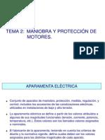 TEMA 2 MANIOBRA Y PROTECCIÓN DE MOTORES