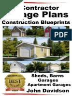 50 Contractor Garage Plans Construction