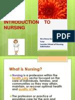 Introduction to Nursing