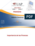 01-Finanzas Importancia de Las Finanzas