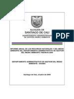 Informe Anual de Los Recursos Naturales y Del Medio Ambiente