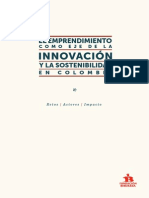Emprendimiento  Como eje de Innovación y sostenibilidad Fundación Bavaria