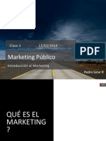 Clase 2 Curso Marketing Publico 2014