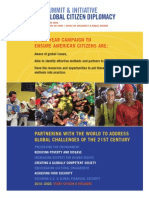 Citizen Diplomacy Summit 2010  Final Report