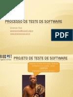 Processo de Teste de Software - 3 Horas