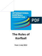 Complete Rules of Korfball From 2012-07-01 Rev