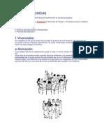TIPOS DE TÉCNICAS grupales