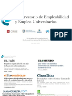 Observatorio de Empleabilidad y Empleo Universitario