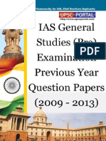 UPSC IAS Pre LAST 5 Year Papers General Studies