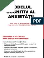 Modelul Cognitivi Al Anxietatii
