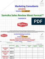 Samsika Target vs. Achievement and GOLY Format - Mumbai